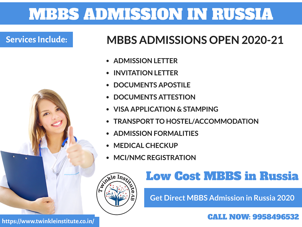 study MBBS in Russia 2020-21 Twinkle InstituteAB