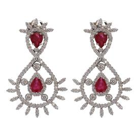 Buy Diamond drop earrings online in Bangalore