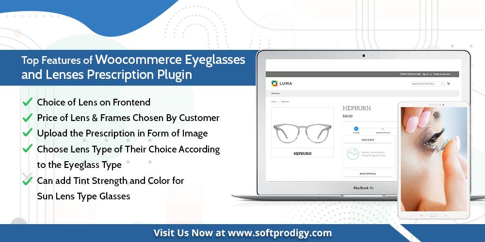 WooCommerce Eyeglass Prescription Plugin