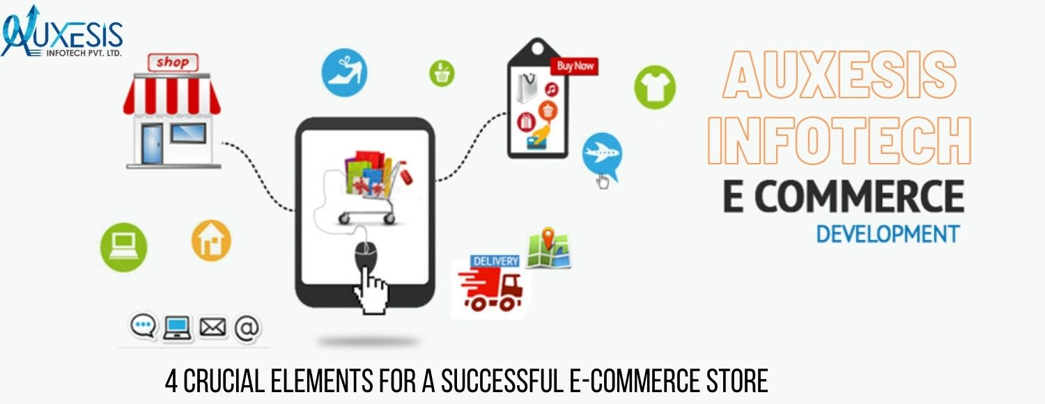 With the best professional support, create an exceptional Ecommerce site