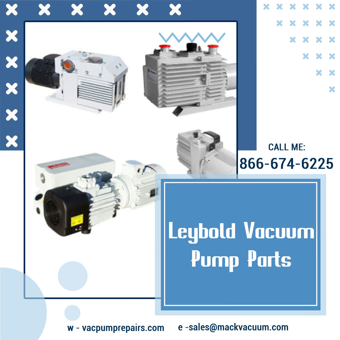 Get your Leybold Vacuum Pump Parts at one stop