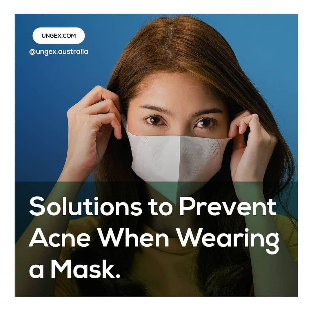 Solutions to Prevent Acne When Wearing a Mask.