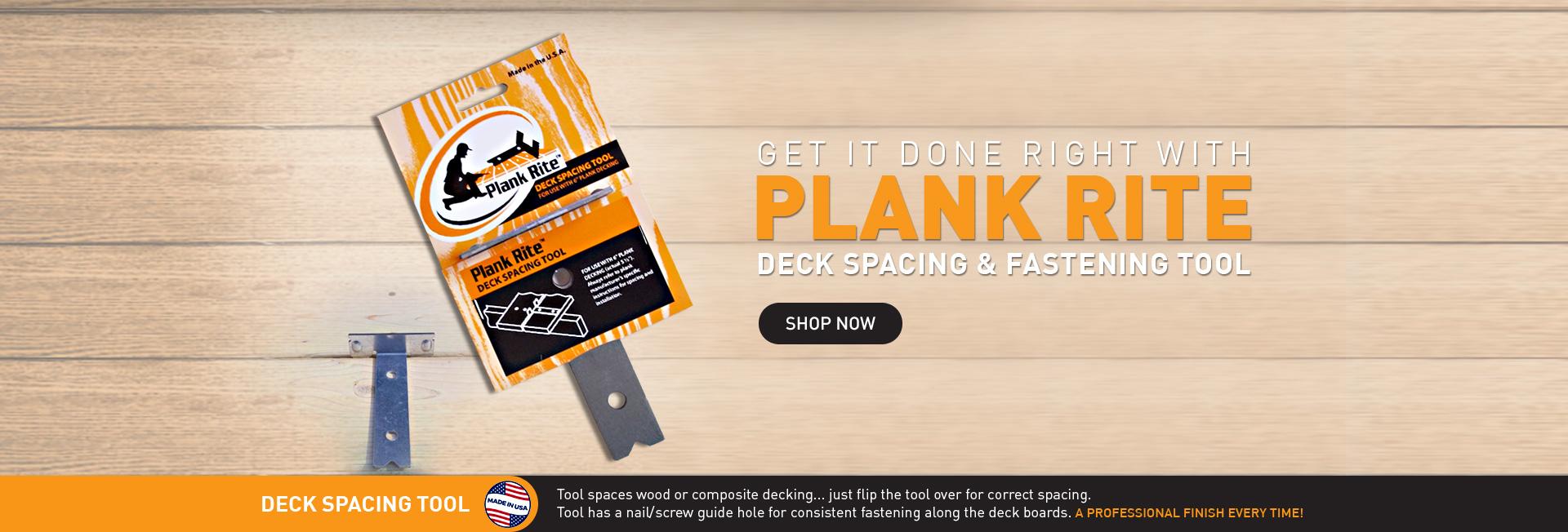 plastic deck planks