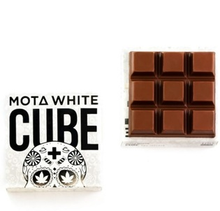 Mota White CBD Milk Chocolate Cube  $29.99