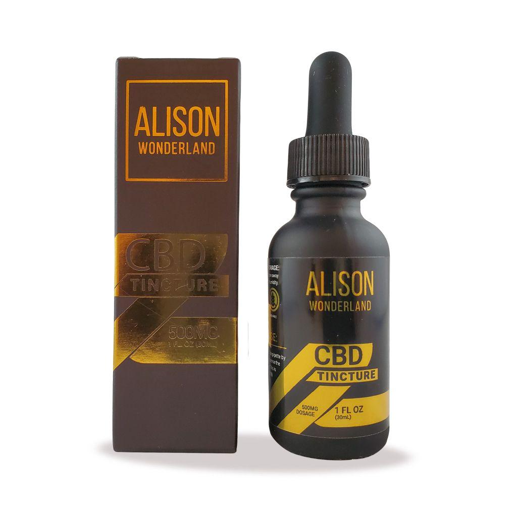Alison Wonderland 500MG CBD Tincture