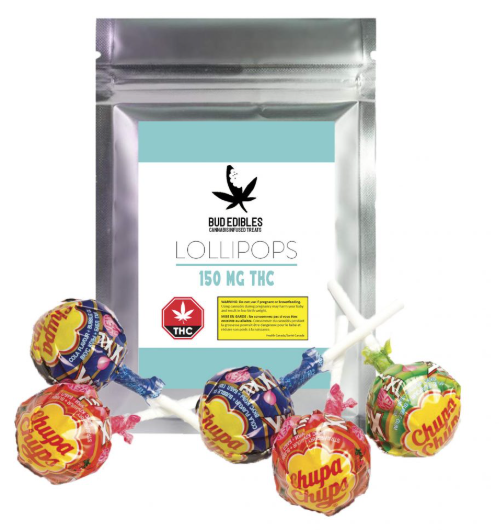 Bud Edibles – Lollipops  $17.99