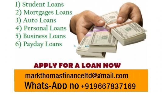 Do You need We provide personal Business loans