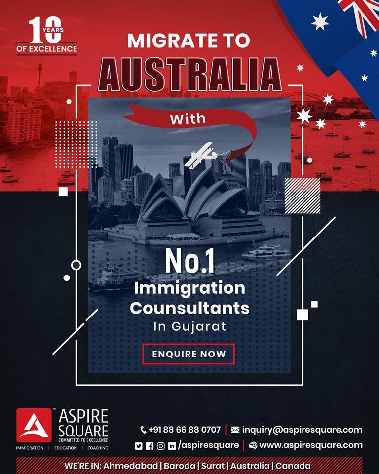 Get Best Australia Partner visa Consultant in Vadodara, Gujarat