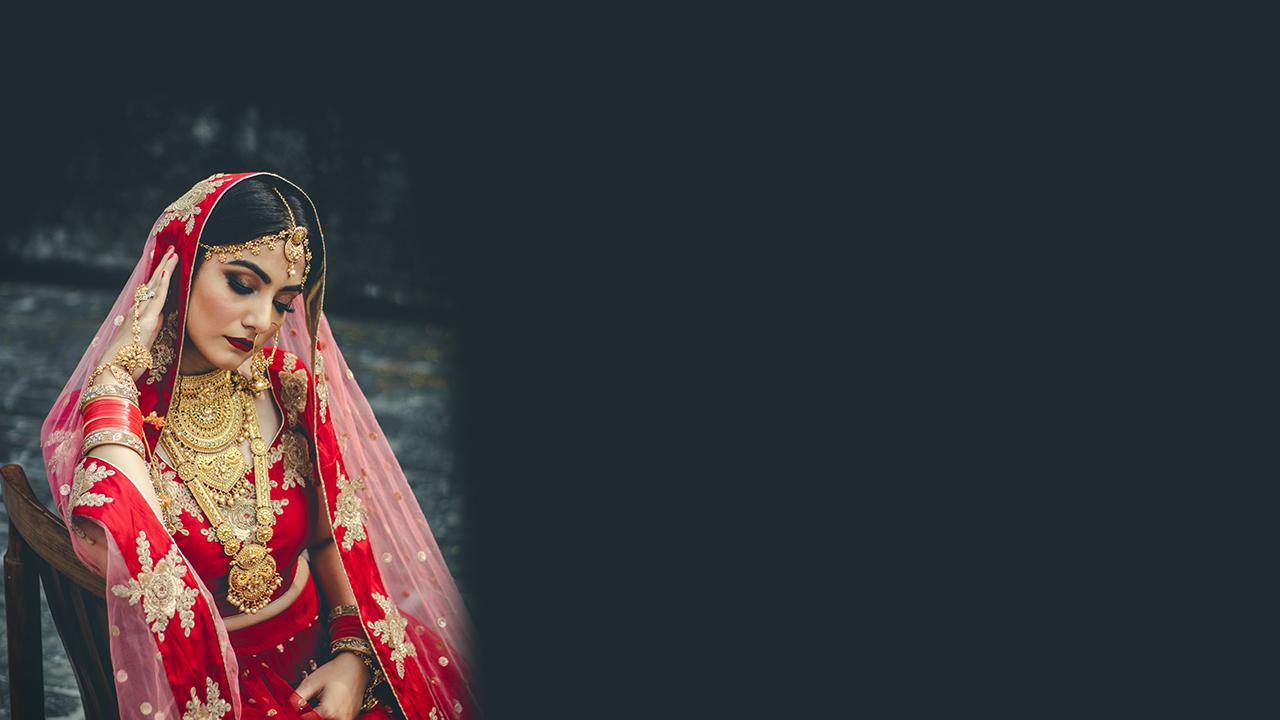 Destination wedding makeup in Jaipur