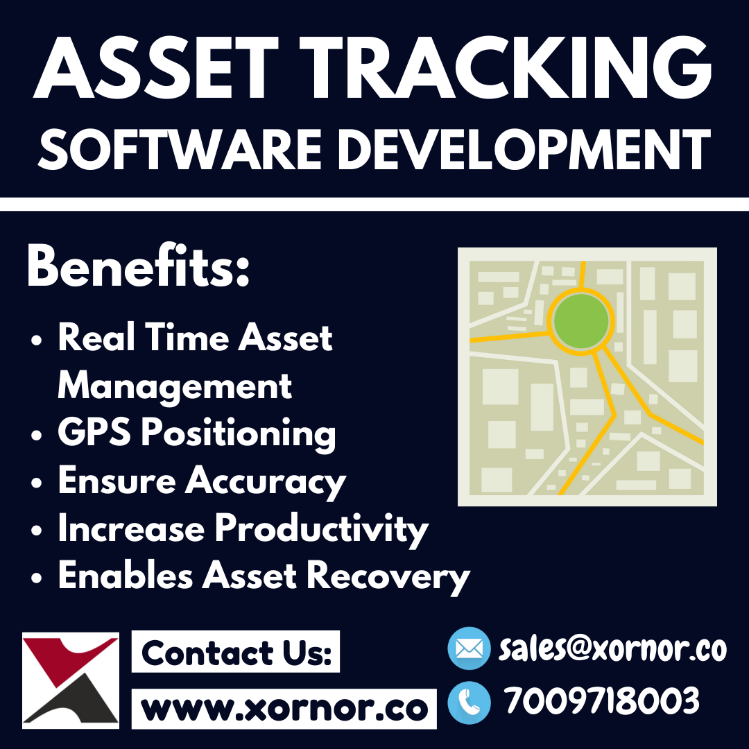 Asset tracking software development