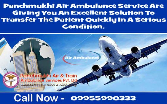 Great Method to Shift the Patient via Air Ambulance Service in Delhi