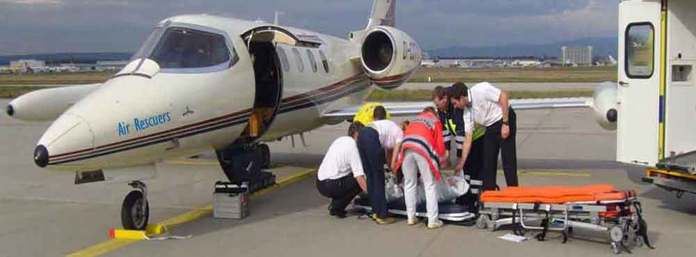 Air Ambulance Services - Airrescuers.com: 9870001118