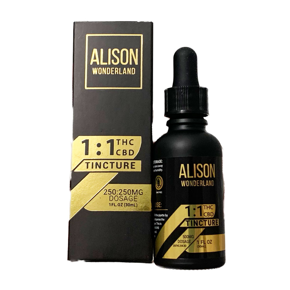 Alison Wonderland – 1:1 500mg Tincture