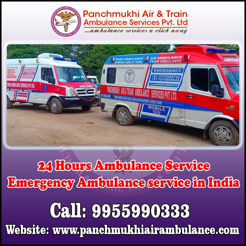 Bed to Bed Patient Care Ambulance Service in Guwahati