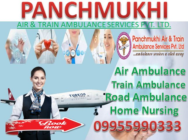 Emergency Medical Transport in Air Ambulance in Lucknow