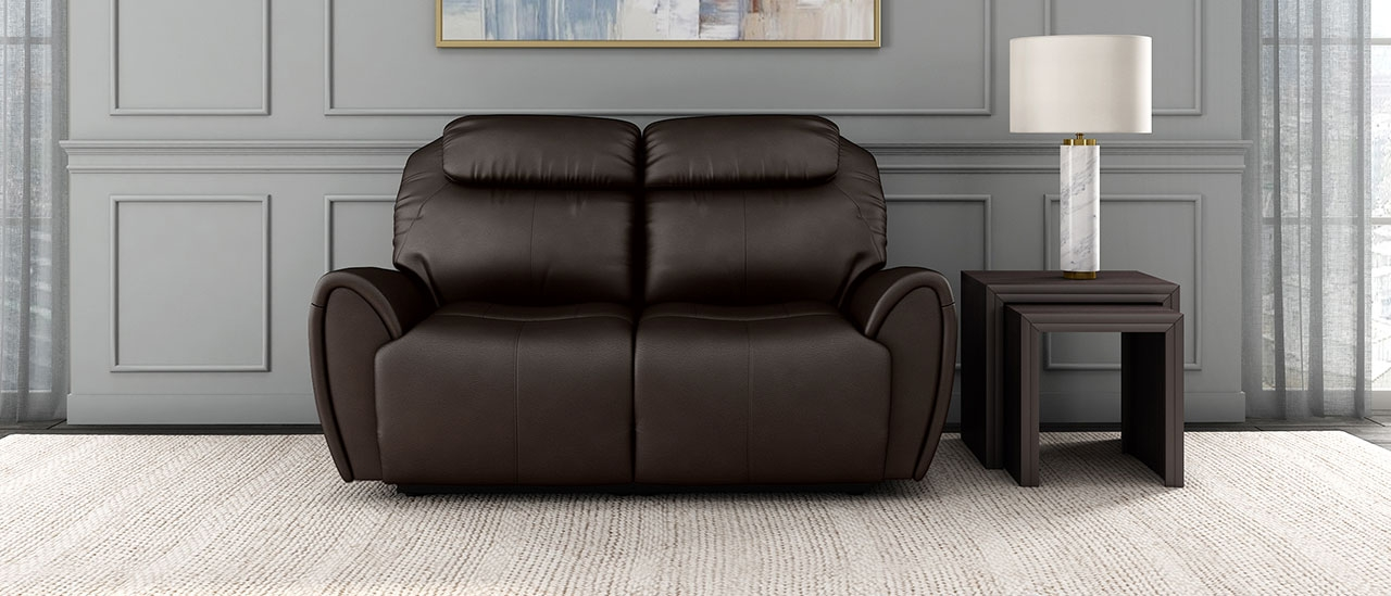 Anton 2 seater Recliner |Durian