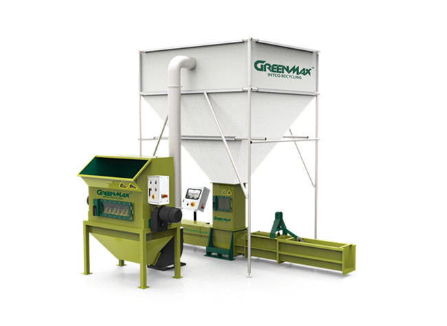 GREENMAX Polystyrene Packaging Compactor A-C300 Hot Sale