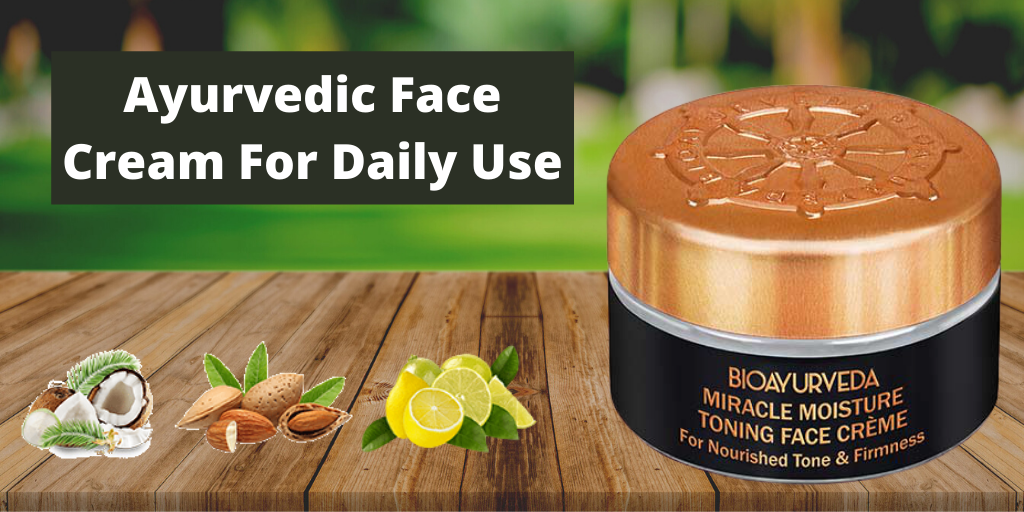 Ayurvedic Face Cream For Daily Use
