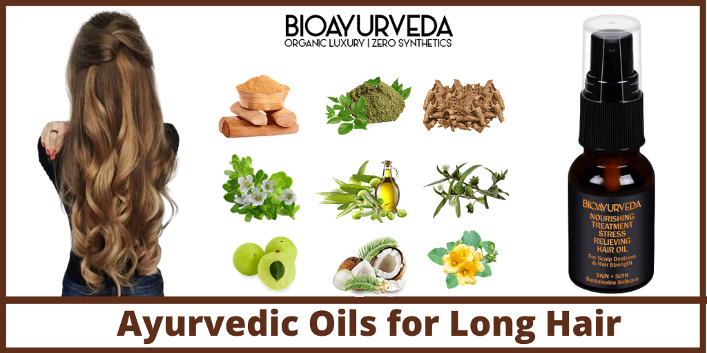 Ayurvedic Oils for Long Hair