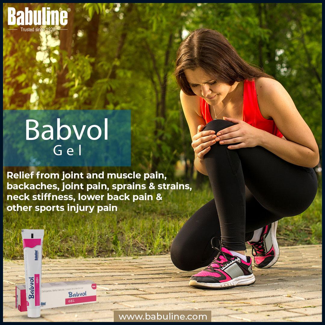 Muscle and Joint Pain Relief Gel| Best Pain Relief Gel | Babuline Babvol Gel |30gm