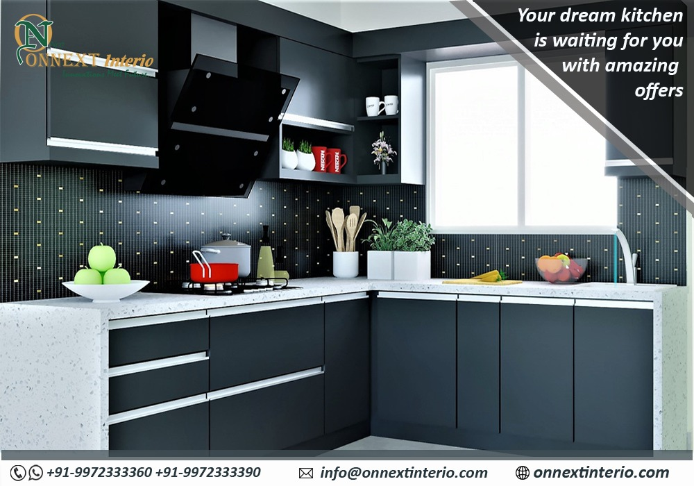Which style of modular kitchen is suitable for your requirement?