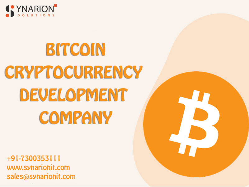 Looking for a Bitcoin Cryptocurrency Development Service
