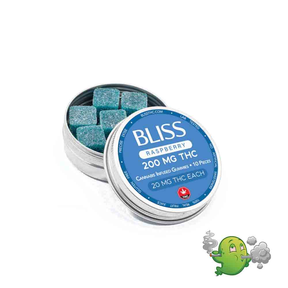 Bliss Blue Raspberry – 200mg