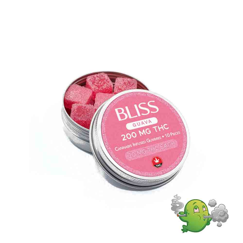 Bliss Edibles Guava – 200mg