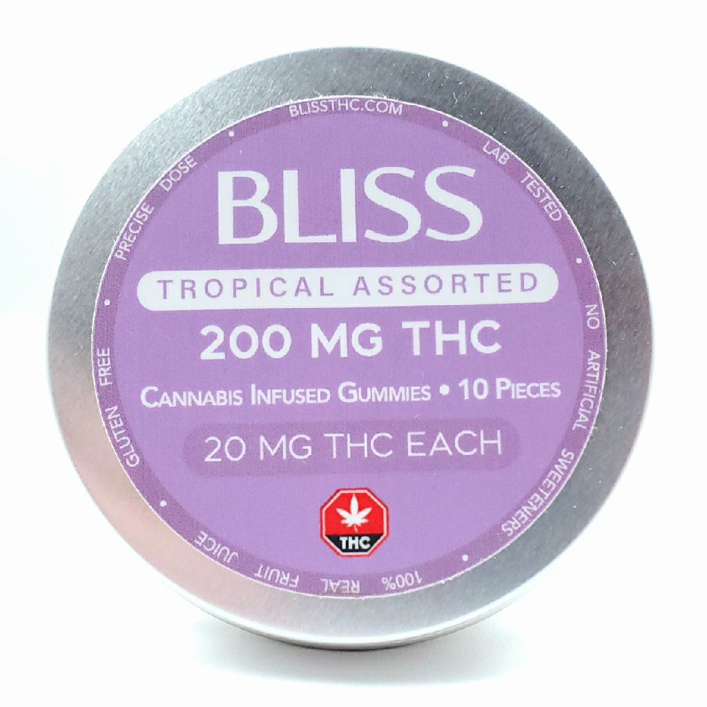 Bliss Tropical Edibles 200mg