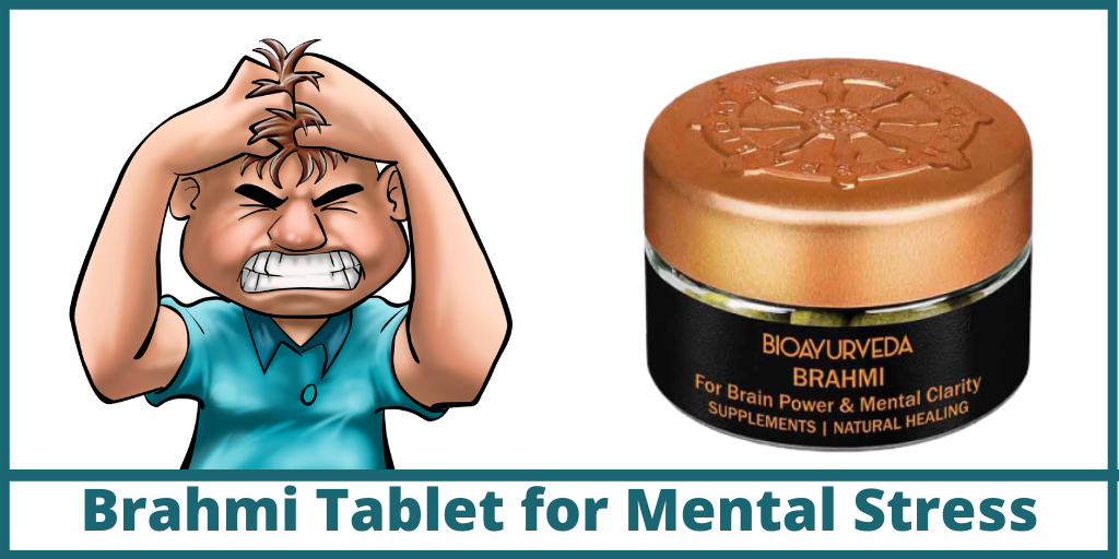 Brahmi Tablet for Mental Stress