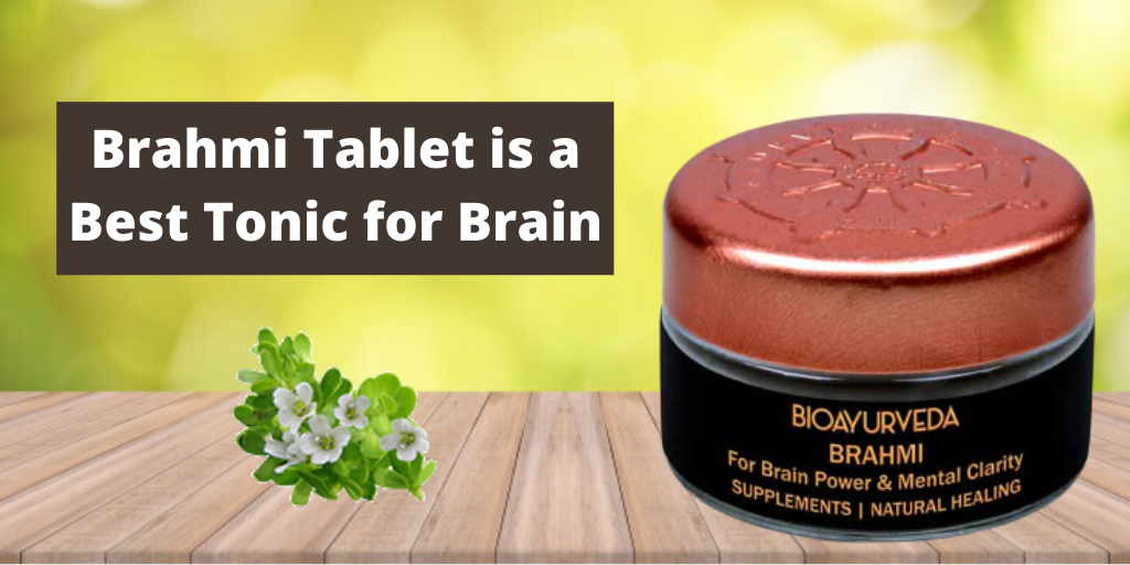 Brahmi Tablet is a Best Tonic for Brain