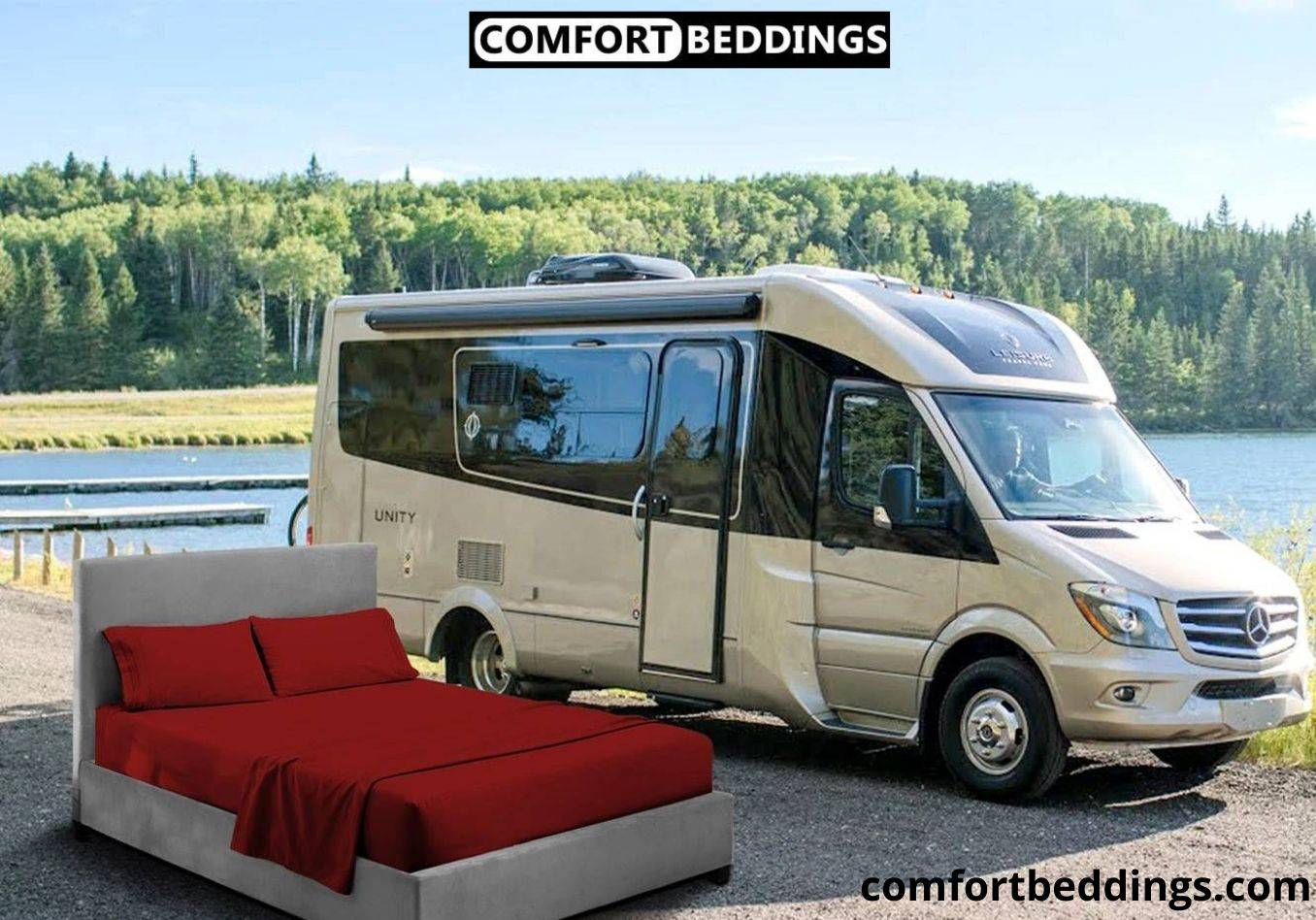 RV Short Queen Sheets For RVs & Campers Mattress