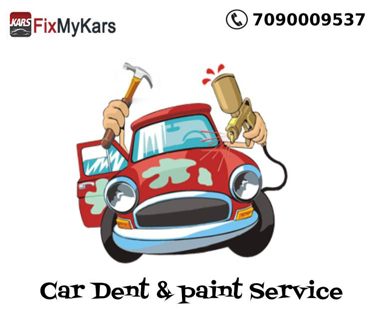 Car Dent & paint Service | Lockdown Car Service and Repair Offer | fixmykars.com