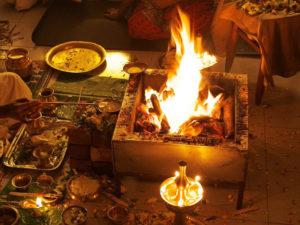Chandi Homam   Shri puja