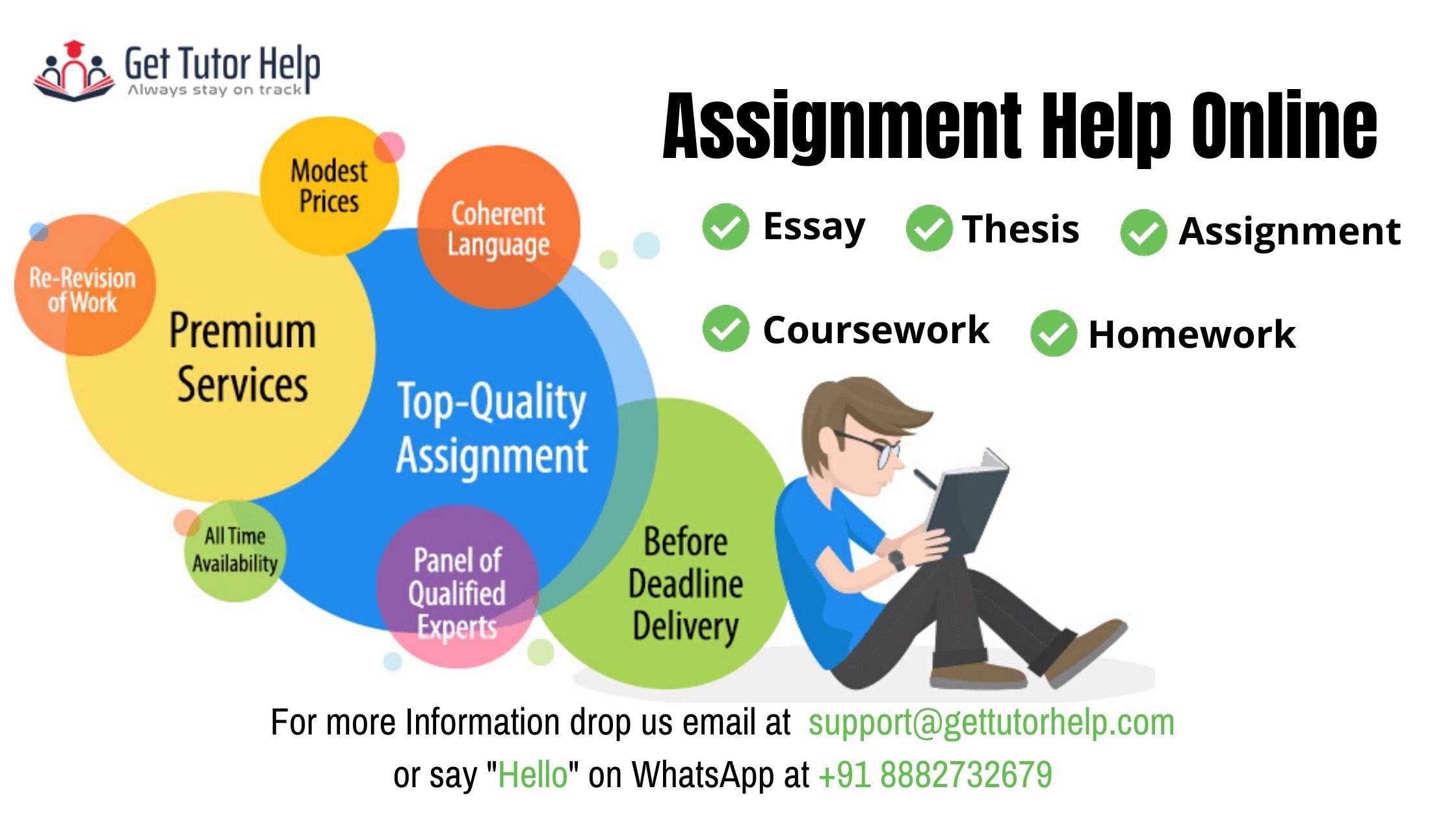 Get Tutor Help : Assignment Help Online: +91 88827 32679,