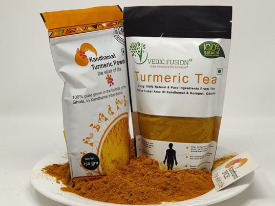 Vedic Fusion 100% Natural Turmeric tea