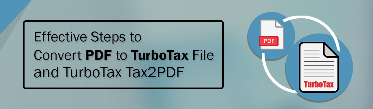 How do I save TurboTax file as PDF