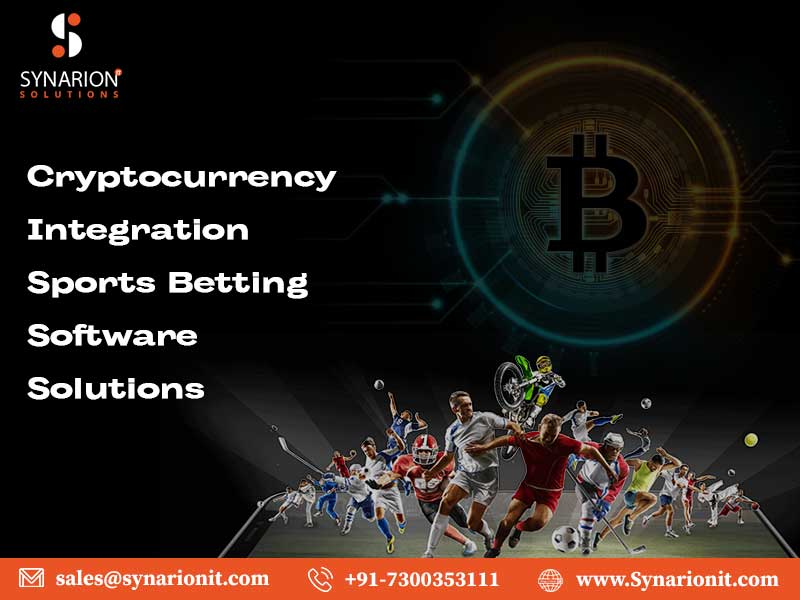 Looking For Cryptocurrency Integration Sports Betting Software Solution