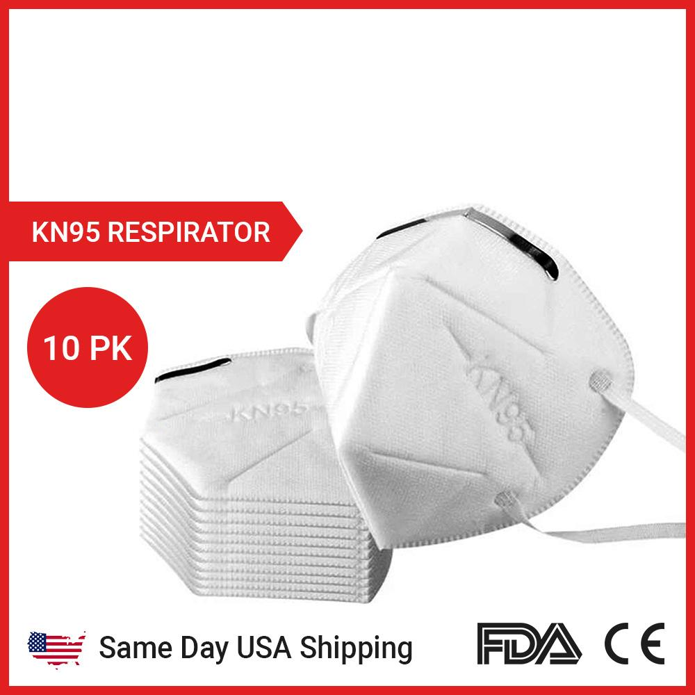 FDA CERTIFIED KN95 MASK FOR SALE (10PK/20PK/100PK) - SAME DAY US SHIPPING