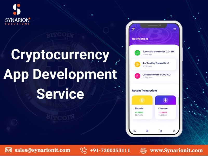 Looking for a Cryptocurrency App Development Solutions?