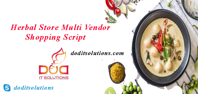 Herbal Store Multi Vendor Shopping Script | DOD IT SOLUTIONS