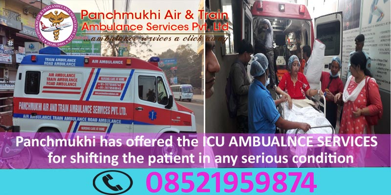 Get an Advanced Panchmukhi North East Ambulance Service in Senapati