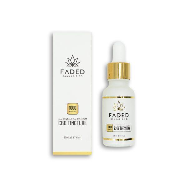 Faded Tinctures | CBD Tincture