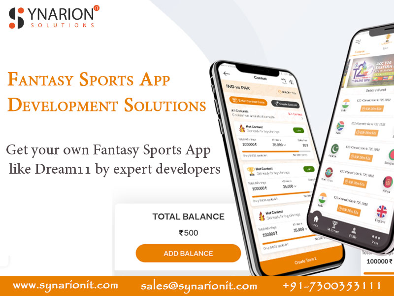 Looking For Fantasy Sports App Development Solutions