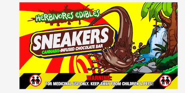 Herbivores Edibles – Sneakers Chocolate Bars