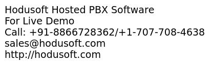 Hosted PBX Software that match with your requirements