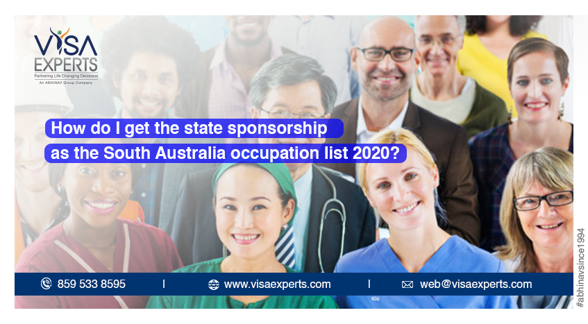 How do I get the state sponsorship as the South Australia occupation list 2020?