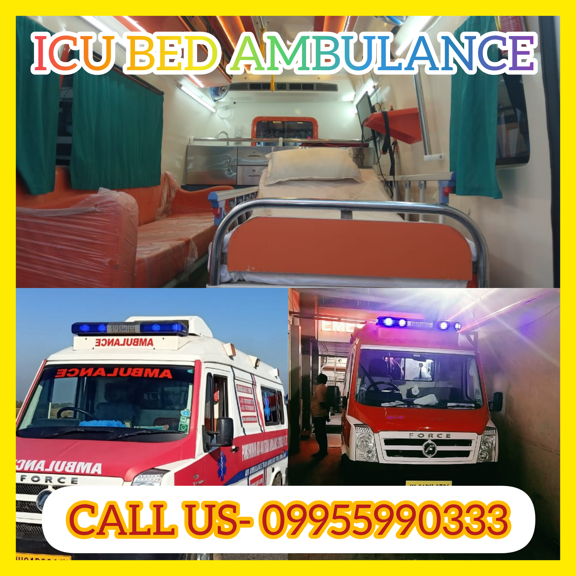 Panchmukhi North East Ambulance Service in Silchar – ICU Ambulance
