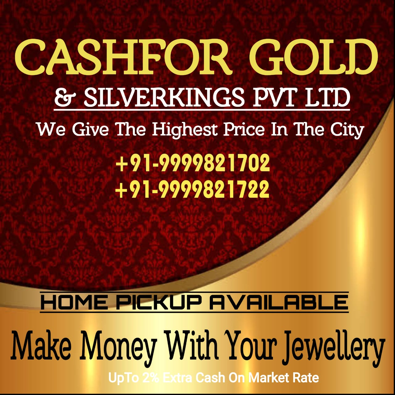 Cash for gold in Gaziabad