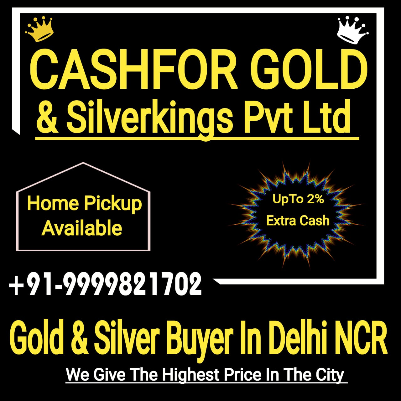 Sell Silver For Cash In Pitampura